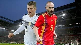 Alemania vs España amistoso 2018