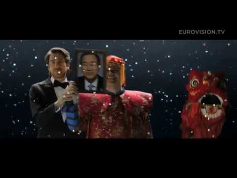 12 Point Song by Nikolaj Koppel, Pilou Asbæk and Lise Rønne from Eurovision 2014 fragman