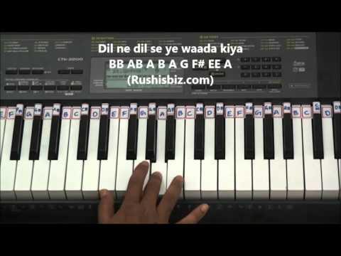 Panchi Bole Hai Kya Piano Tutorials - Baahubali (Hindi)