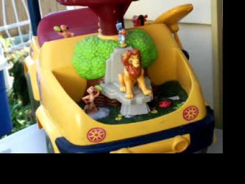 Disneys Lion King Simba Toy Car Part 2