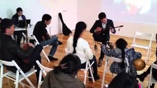 Пробный урок по домбре в школе музыки