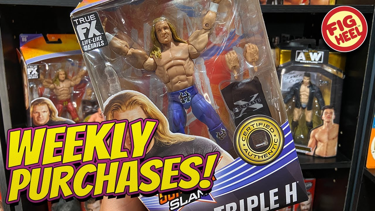 Weekly Purchases! WWE Elite 86, AEW Unrivaled Variant, WCW Galoob Action Figures & MORE!