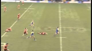 Brent Grose try Warrington v Castleford 2004