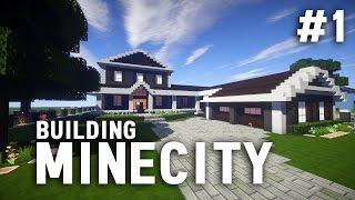 Building MineCity: Minecraft PC Livestream #1