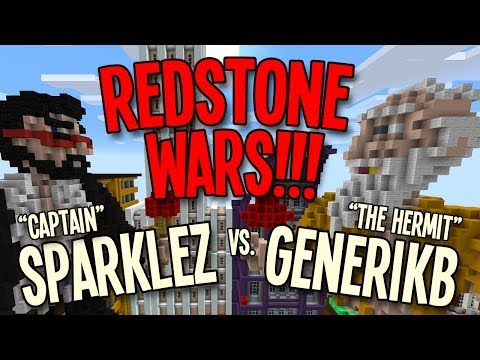 Redstone Wars IS BACK BABY!!! vs. Captain Sparklez (THEMES NEEDED!)