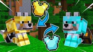 COMMENT OBTENIR DES ARMURES POUR CHIEN SUR MINECRAFT ! | TUTO FACILE Minecraft !