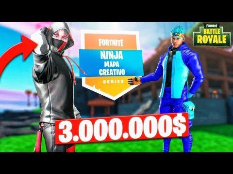 JUEGO el MAPA de NINJA de 3000000$