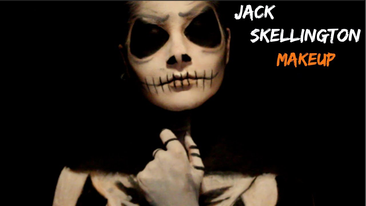 The Nightmare Before Christmas: Jack Skellington Makeup|SimplyAlex ...