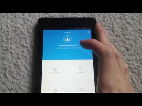 How to Root Fire HD6 / Fire HD7