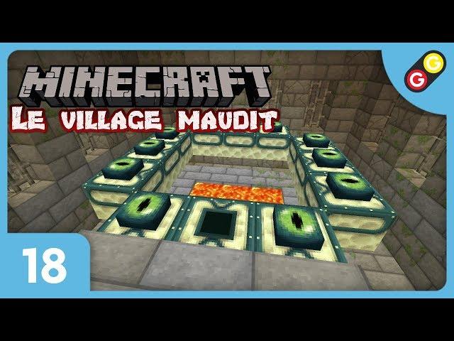 Minecraft - Le village maudit #18 Trouvera-t-on ce portail ? [FR]