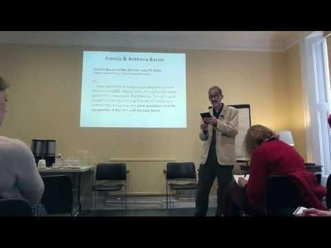 Francis Bacon and the Merchant of Venice: A Talk by Simon Miles