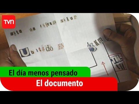El día menos pensado   T01E02: El documento