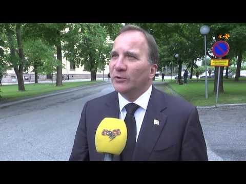 """Löfven: """"Har gjort ovärderliga insatser för svensk demokrati"""""""