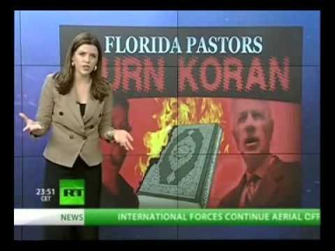 """Florida pastor Terry Jones played as boys and burned The Quran """"Koran"""" ?"""