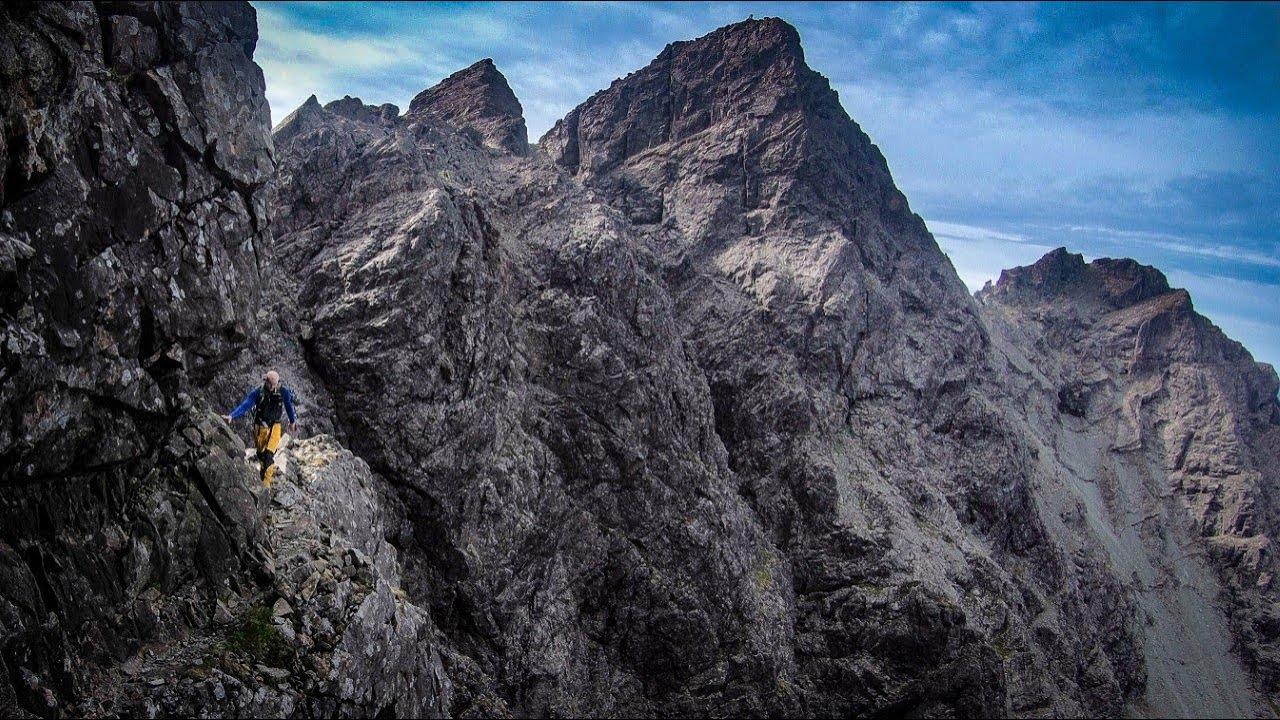 Mountain Exposure - An exposed hike along Collies Ledge