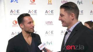 "Michael Chernow ""Food Porn"" at the A+E Upfront with BTVRtv's Arthur Kade"