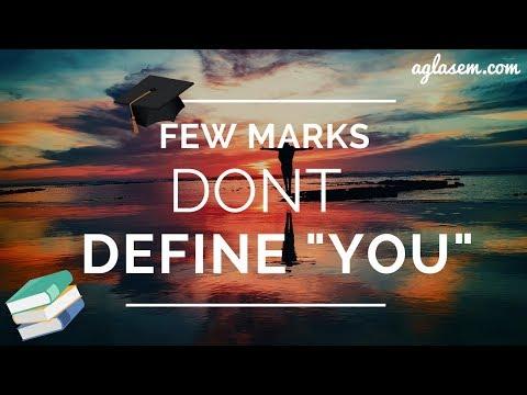 Few Marks Don't Define You | CBSE Result 2018 [Motivation]