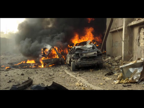 Twin Bomb Blasts Kill 33 In Iraq - ارتفاع حصيلة انفجار مفخختين بجنوب العراق الى 33 قتيلا