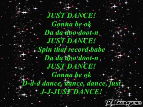 Lady GaGa ft Colby ODonis & Akon Just Dance Lyrics