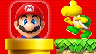 Super Mario Run Gameplay iOS - Meet Super Mario Run!