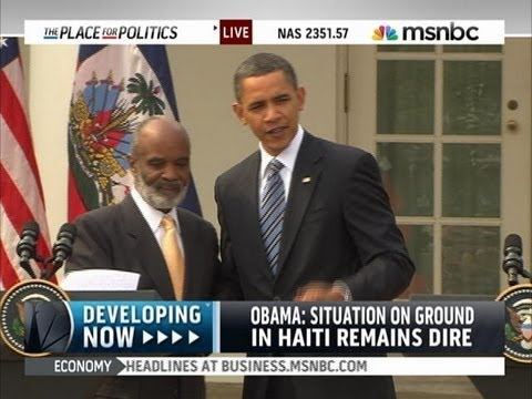 Obama renews support for Haiti, warns that 'dire' crisis isn't over