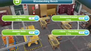 Sims Freeplay - How To Build Stairs, Elevators, Second Floo
