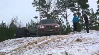 OFF ROAD BMW X6 vs Range Rover vs Toyota Land Cruiser Prado(.flv