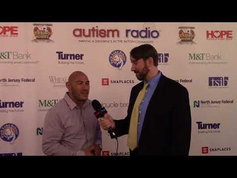 2017 Autism Radio Casino Night interview with Brandon Adames of the UFC Gym Long Island.