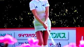 【ゴルフスイング】アン・シネ:ドライバーショット後のセクシーショット アン・シネ 検索動画 26