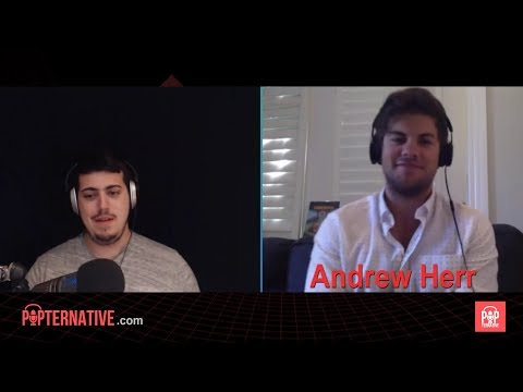 Andrew Herr talks about playing Jonesy on Letterkenny