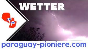 Klima und Wetter in Paraguay - die ganze Wahrheit!