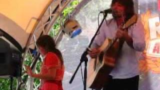 Angus & Julia Stone - Just a Boy (live at The Rocks, Sydney)