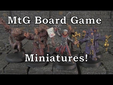 Cheap Miniatures Update - Magic the Gathering Board Game Minis Shadows Over Innistrad