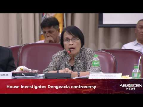 WATCH: House investigates Dengvaxia controversy(Part 3) | 26 February 2018