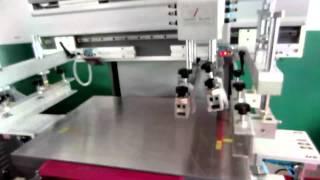 Flat Bed Screen Printing Machine Plane Screen Printer Flat Silk Screen Printer