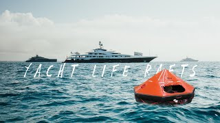 What's Inside Super Yacht Life Rafts?