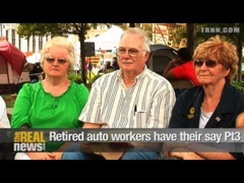 Retired auto workers have their say Pt.3