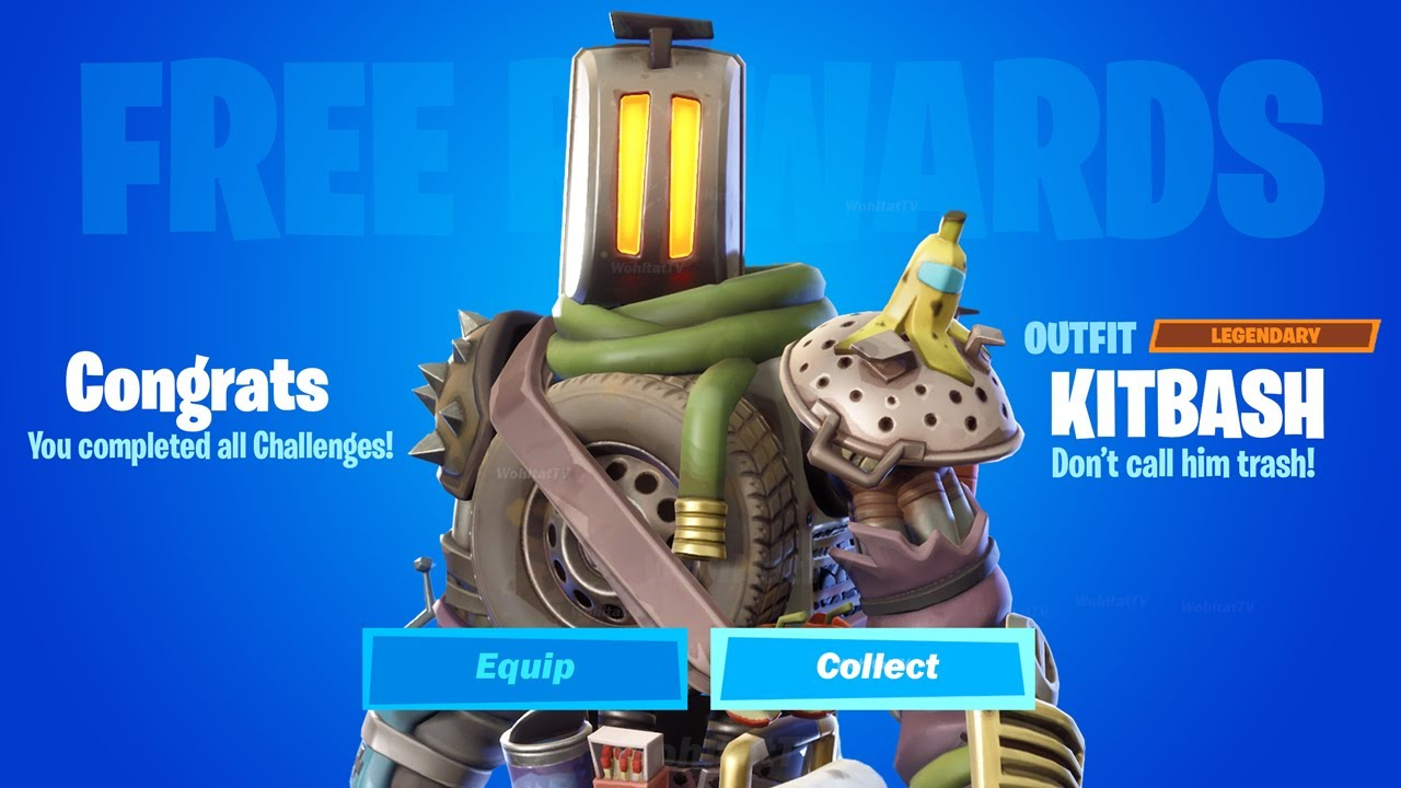 Where is Kitbash in Fortnite Season 8? (Kitbash Location and all Kitbash Challenges in Fortnite)