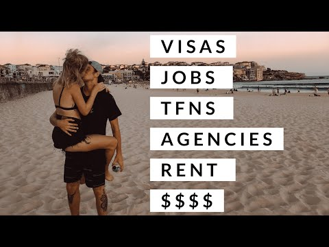 WORKING HOLIDAY // AUSTRALIA // JOBS, RENT, TFN, MONEY // EVERYTHING WE WISH WE KNEW