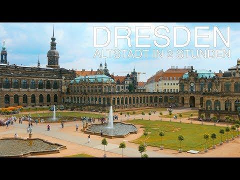Dresden Sehenswürdigkeiten (in 2 Stunden!)  4K 