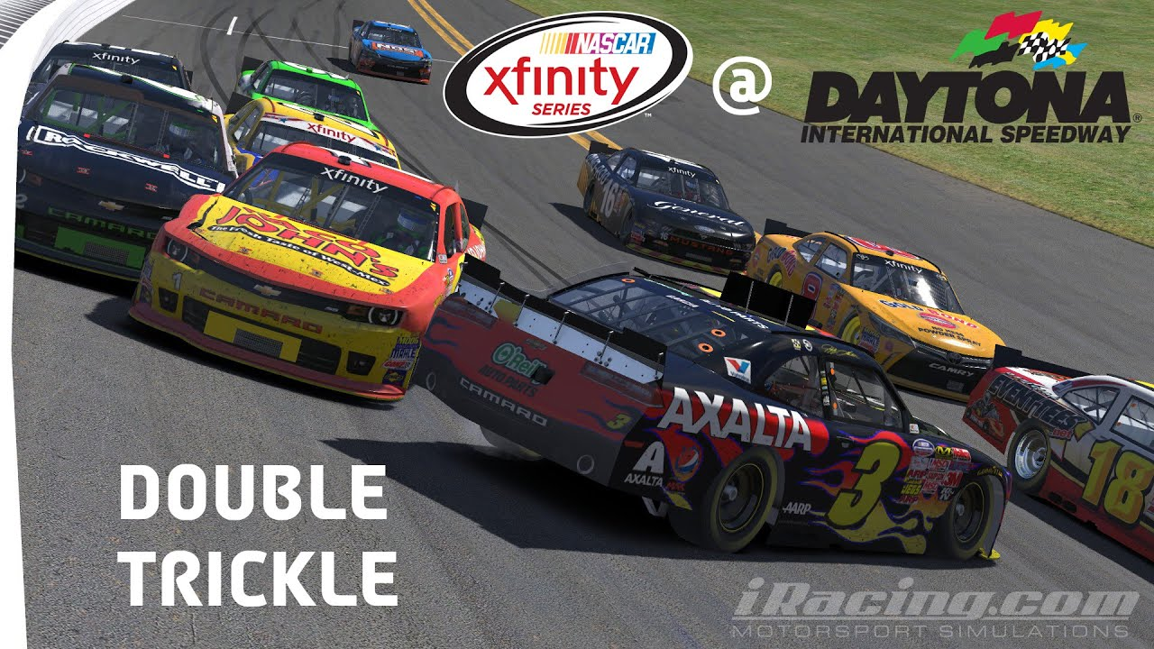 Iracing Double Trickle Nascar Xfinity Series At Daytona