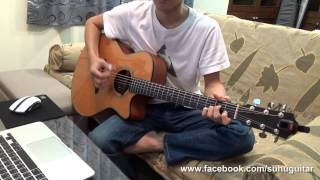 五月天-將軍令 (acoustic guitar solo)
