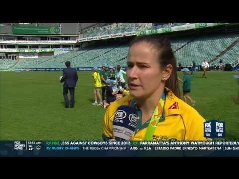 Shannon Parry speaks to Fox Sports News on winning Olympic Gold