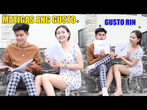 MATIGAS ANG GUSTO NYA | MAG HANAP KA NG IBA | COMPATIVILITY TEST