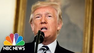 President Donald Trump Speaks From WH After North Korea Missile Launch, Tax Meeting   NBC News