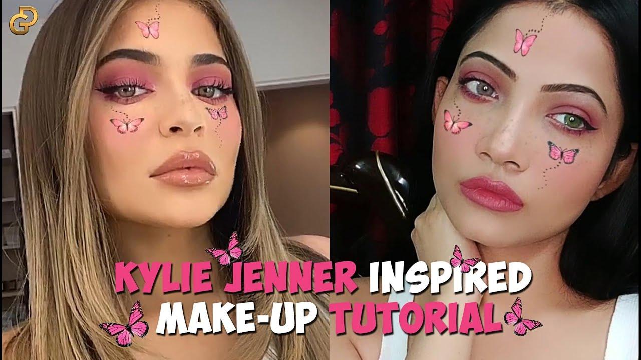 Kylie Jenner Pink Inspired Makeup Tutorial 2020 By Diya ...