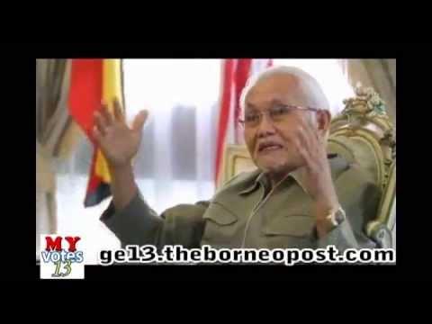 Interview with Sarawak CM Pehin Sri Taib Mahmud - Part 4