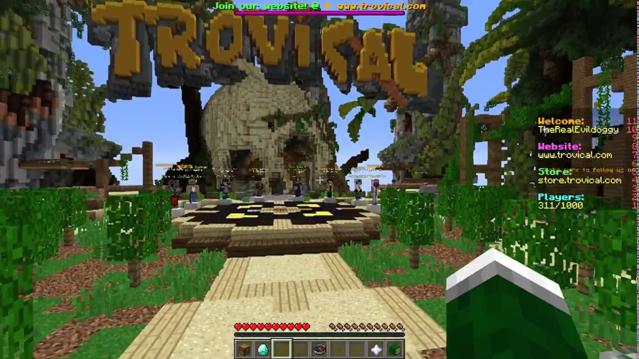 Minecraft Trovical Skyblock 1 YouTube