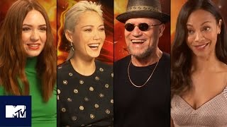 Guardians of the Galaxy Cast Play Snog, Marry, Avoid: MARVEL Edition! 😘| MTV