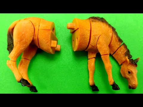 Horse 3D Puzzle Toy/Creative Play For Children